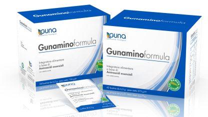 GUNAMINOFORMULA - DIETA